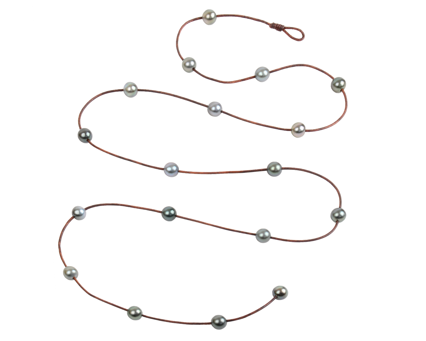 Large Constellation Lariat | Tahitian