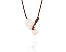 Baroque Freshwater Seaplicity Necklace