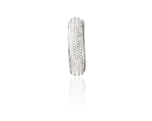 Sterling Silver Braided Bracelet, 1 inch