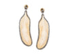 Pluma De Hueso Earrings