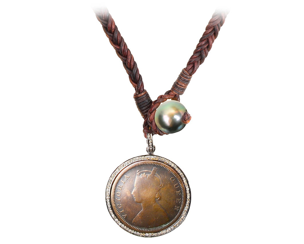Queen Victoria Coin Necklace