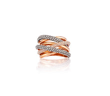 2.14ct Diamond 18kt Gold Multi-Band Ring