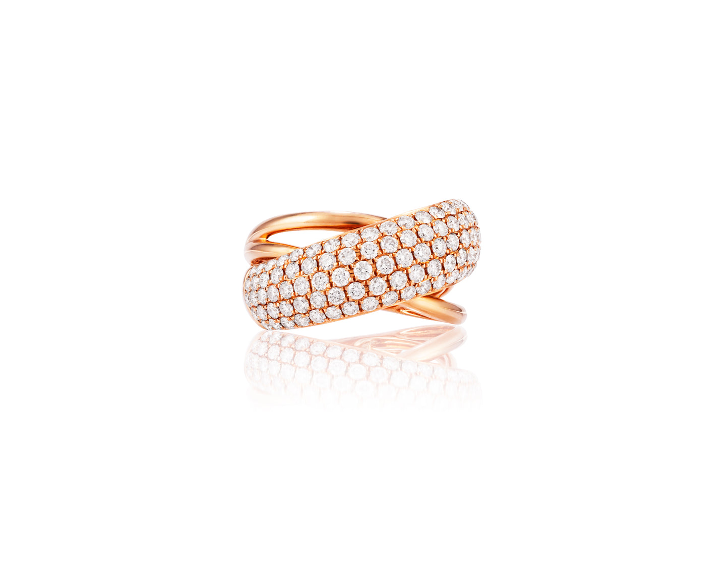 2ct Diamond 18kt Rose Gold Ring