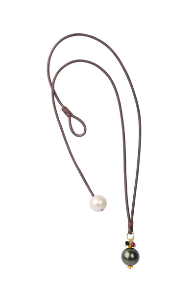 Royal Drop, Tahitian - Hottest Designer Pearl and Leather Jewelry | VINCENT PEACH