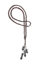S Hook Lariat - Hottest Designer Pearl and Leather Jewelry | VINCENT PEACH  - 2