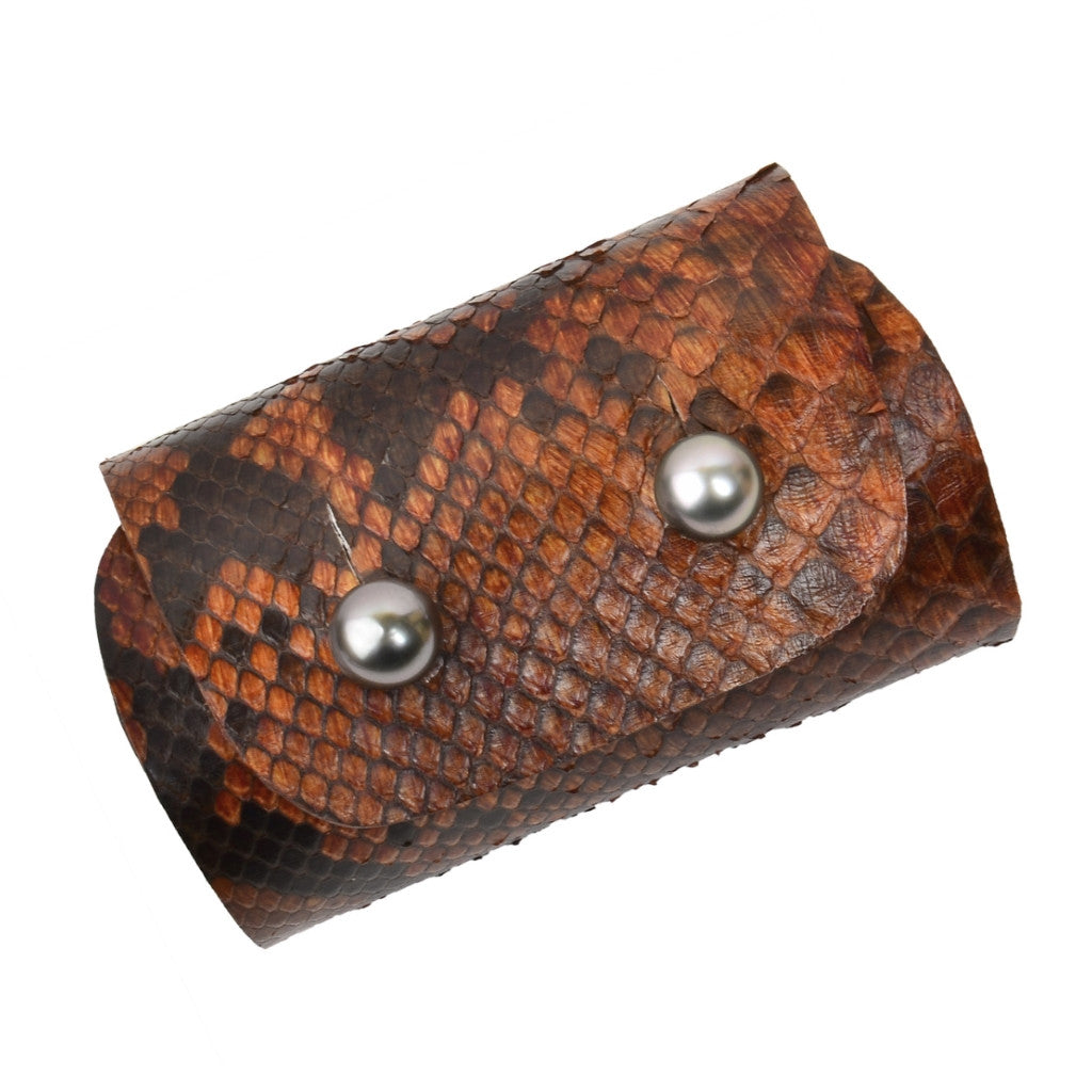 Safari Apollo Wide Cuff - Hottest Designer Pearl and Leather Jewelry | VINCENT PEACH