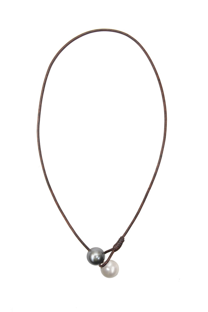 Seaplicity Necklace, Options - Hottest Designer Pearl and Leather Jewelry | VINCENT PEACH  - 4