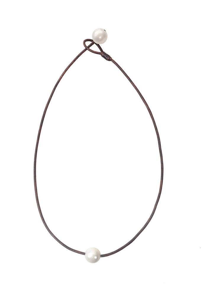 Seaplicity Necklace, Options - Hottest Designer Pearl and Leather Jewelry | VINCENT PEACH  - 2
