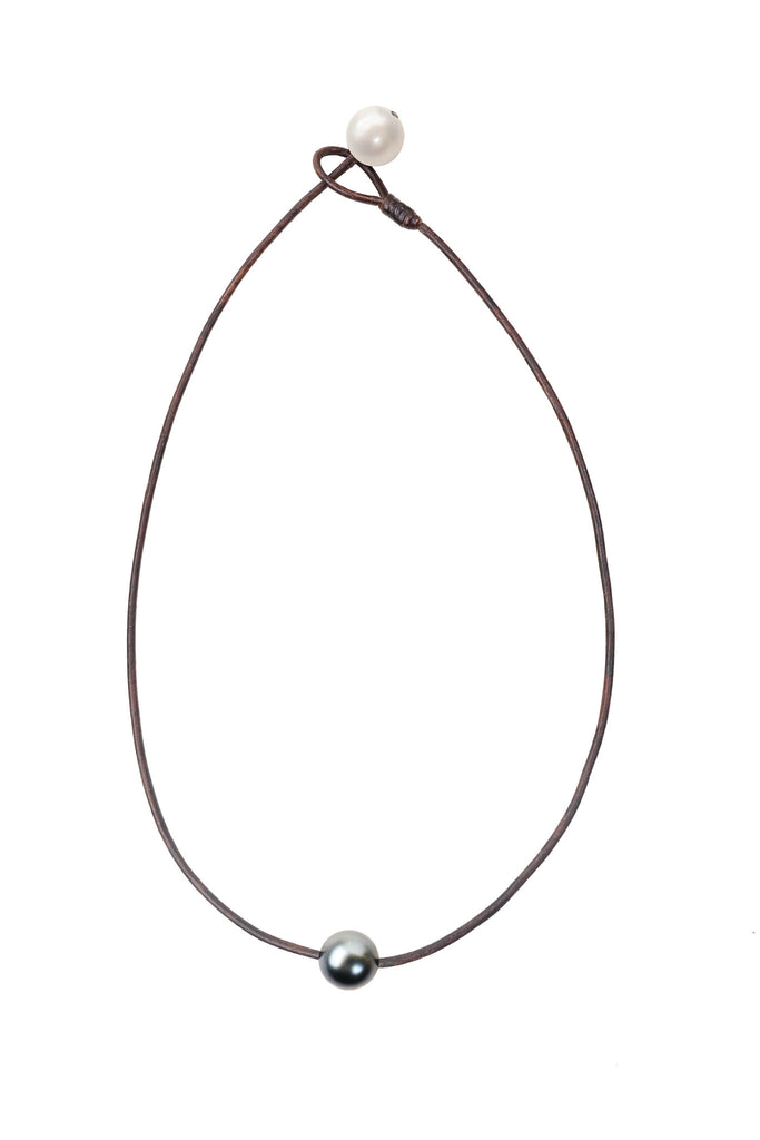 Seaplicity Necklace, Options - Hottest Designer Pearl and Leather Jewelry | VINCENT PEACH  - 6