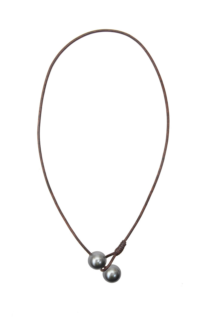 Seaplicity Necklace, Options - Hottest Designer Pearl and Leather Jewelry | VINCENT PEACH  - 3