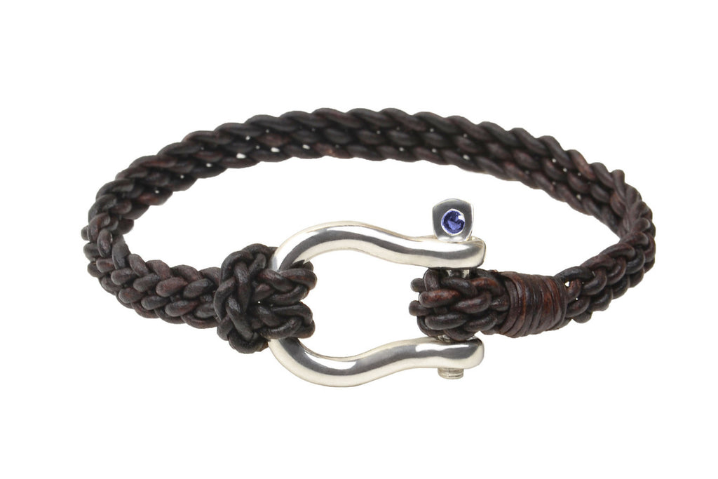Shackle Bracelet - Hottest Designer Pearl and Leather Jewelry | VINCENT PEACH  - 4