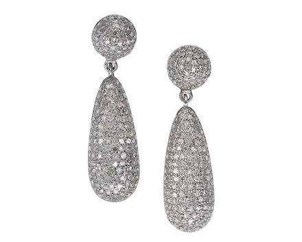 Signature Diamond Dome Earrings