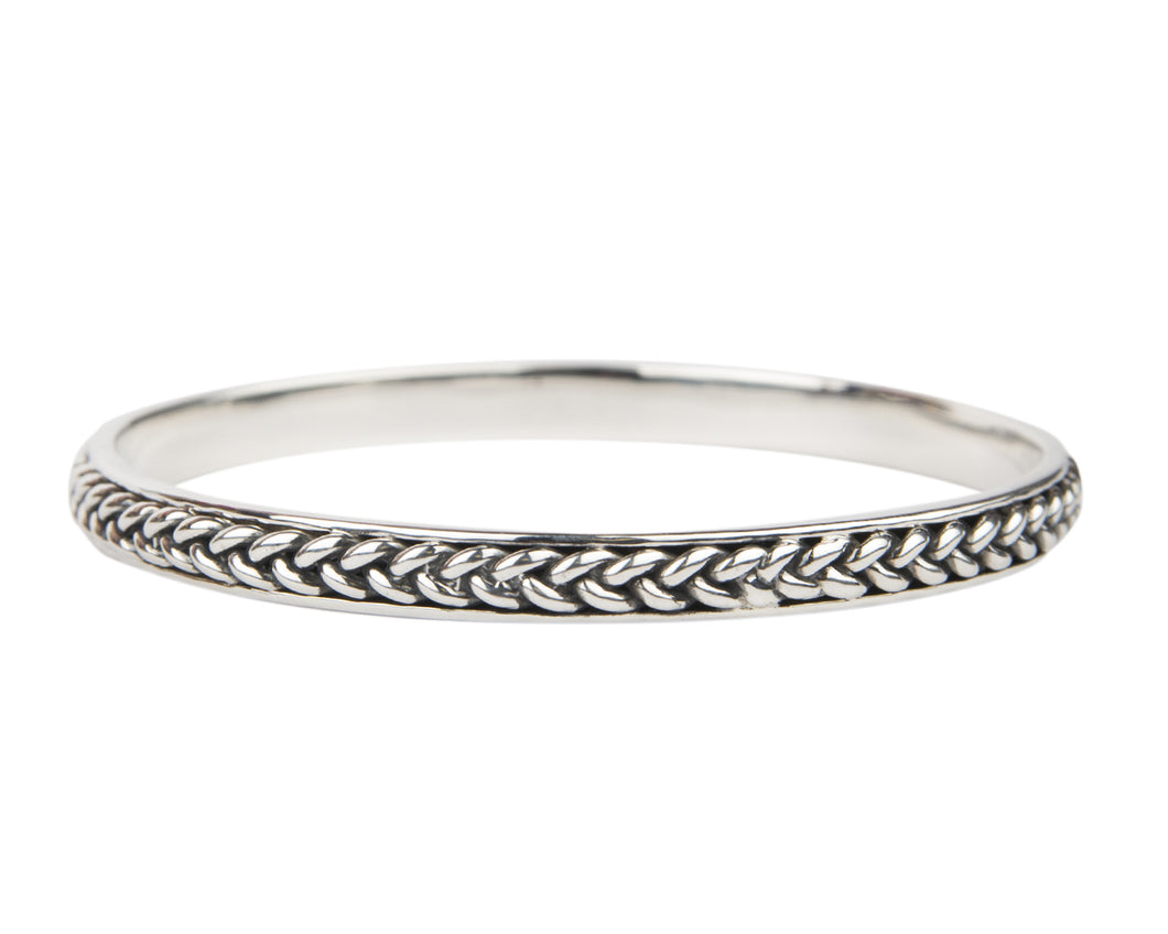 Three Strand Signature Braided Bangle