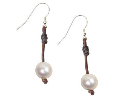 Seaplicity Earrings, Freswater Pearls with Vermeil