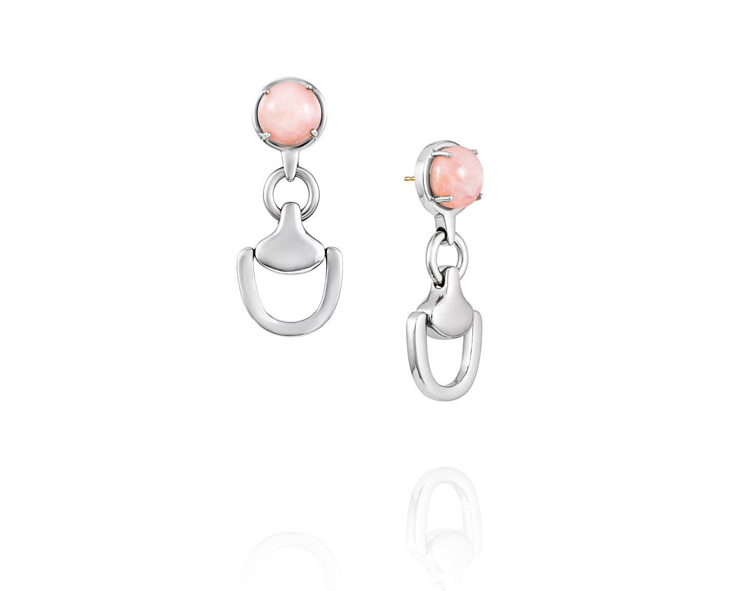 Churchill Downs Earrings | Pink Opal