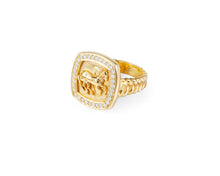 Finnhorse Gold Ring