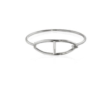 Kingston Buckle Bangle | Sterling Silver