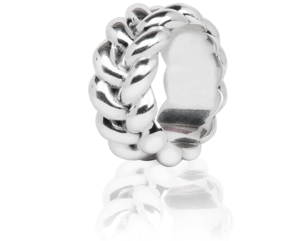 Vincent Peach Signature Braided Ring