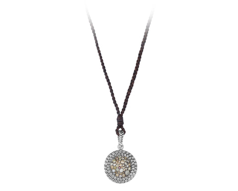 Vincent Peach Signature Diamond Pendant