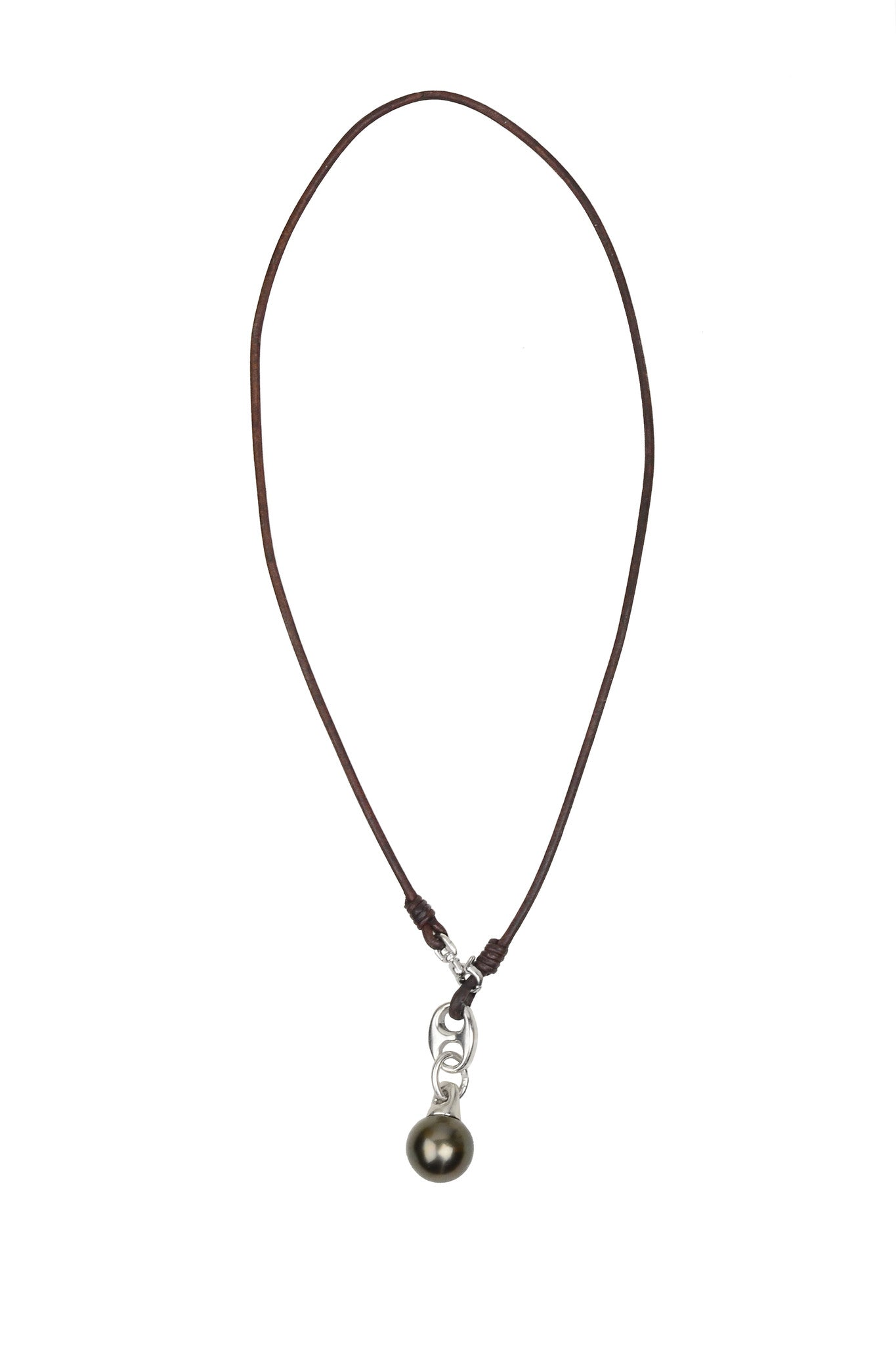 Windward Necklace - Hottest Designer Pearl and Leather Jewelry | VINCENT PEACH