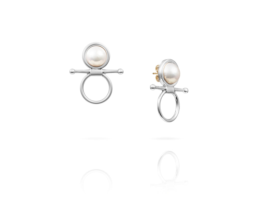 Fulmer Bit Freshwater Earrings