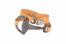 MONTANA BRACELET FULL PAVE | VINCENT PEACH - Hottest Designer Pearl and Leather Jewelry | VINCENT PEACH  - 2
