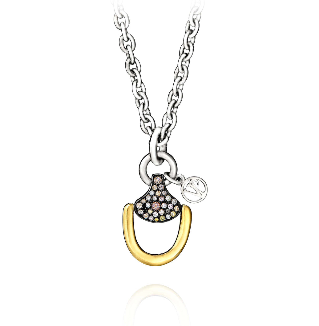 Churchill Downs Necklace | Multi Diamond