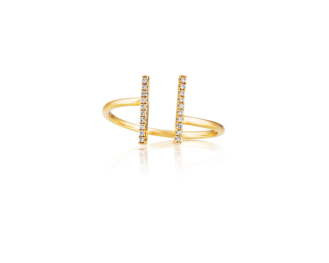 Linear Stackable Ring