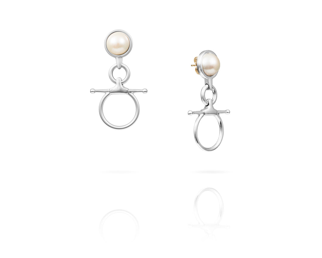 Fulmer Bit Freshwater Drop Earrings