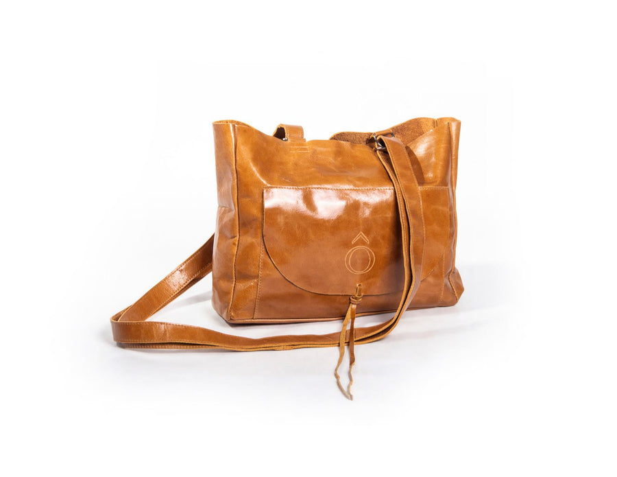 The Mini Shoulder - Cognac