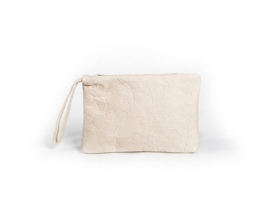 nord by nord, nord by nord bag, nord by nord bags, by nord, nord, white clutch, clutch, white bag, pinatex bag, vegan bag, vegan bags, plant based leather, plant based, natural leather, natural leather bag