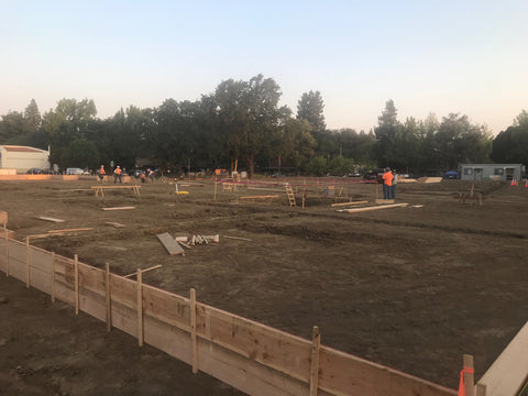 Builders in California build the Wafflemat Foundation on Native Soils in the region. Wafflemat was chosen for its void form system that accommodates expansive soils.