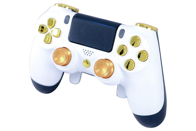 Modded White Gold Elite Controller