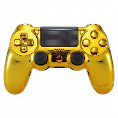 Gold PS4 Modded Controller Loaded