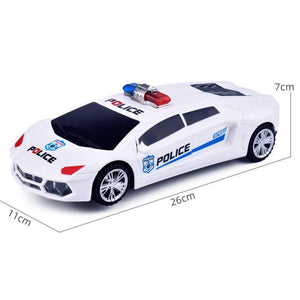 Music 360 degree rotating door electric toy car