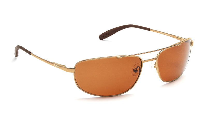Sport Titanium Sunglasses with Gold Frames