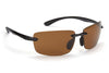 ESP Classic Sunglasses - Gloss Black - Brown Lenses