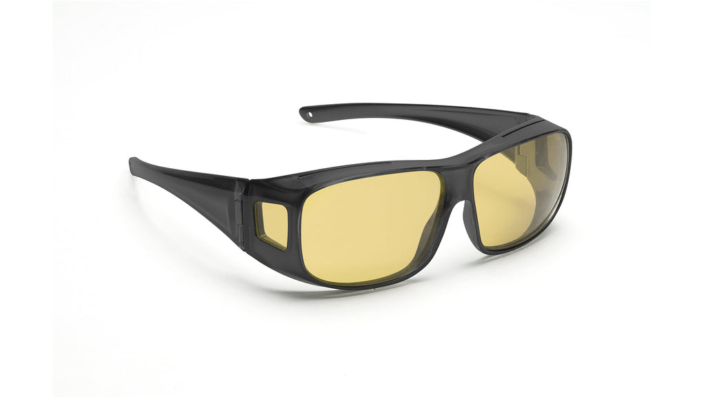 Drivers Choice™ - Over the Glasses - Matte Black Frame (L/XL)