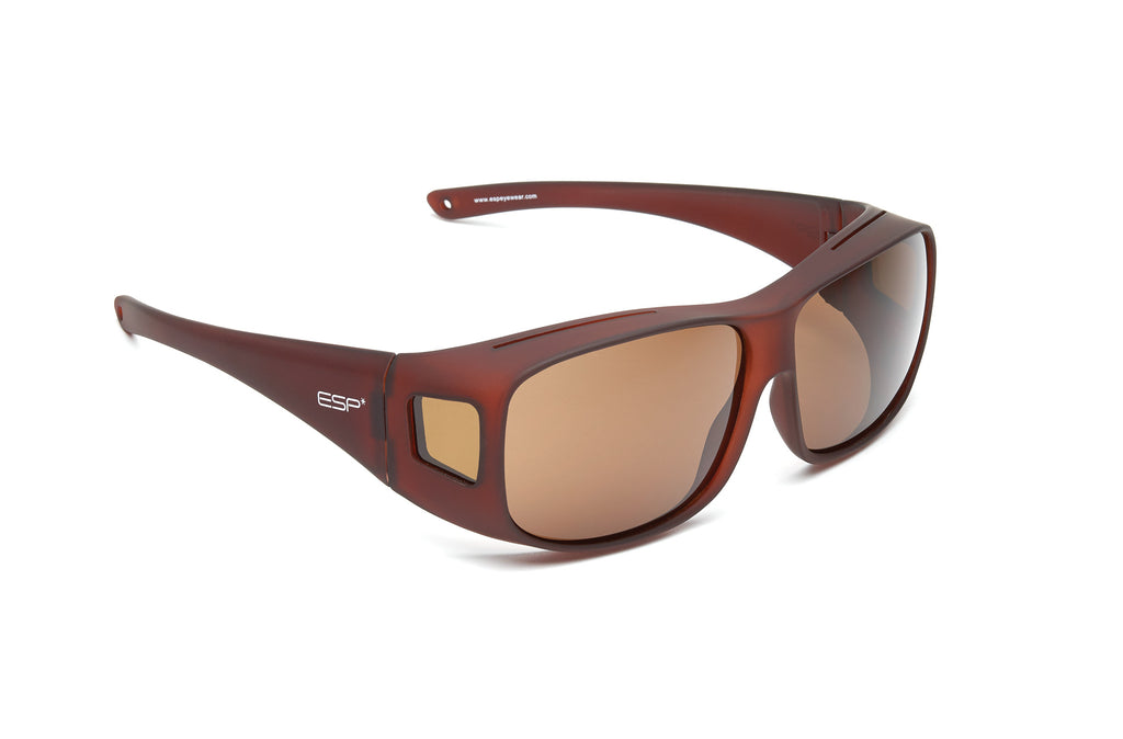 Over the Glasses - Soft Touch Brown Frame - (L/XL) - espeyewear