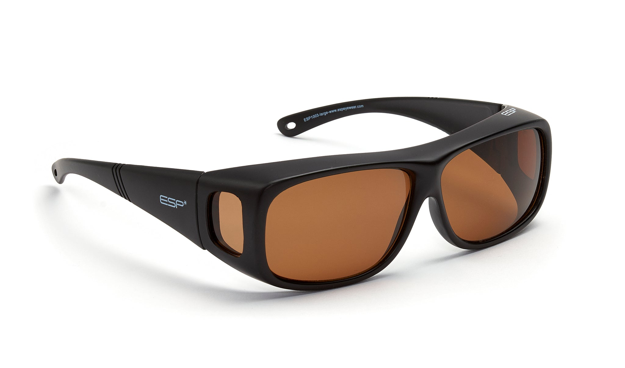 a01235af0ddaa Over the Glasses - Matte Black-Brown Lenses (2 Sizes) - espeyewear