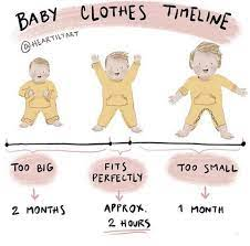 baby clothes not fit