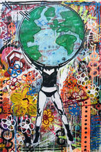 "Load image into Gallery viewer, PEACE | ""A Mother's Earth"" by Charlie Buster 