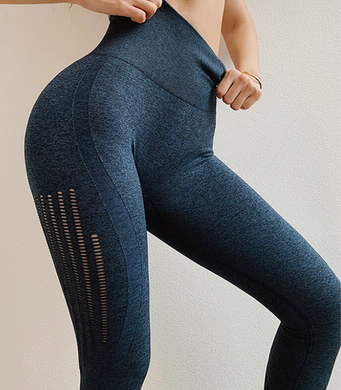 Leggings Scrunch Azul