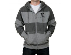 SKULLCANDY GUY'S FOLSOM HOODIE GUNMETAL HEATHER SMALL