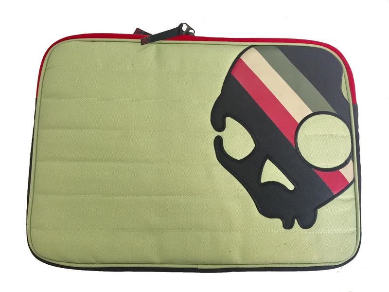"Skullcandy Tan Beige With Colors Universal Laptop Sleeve 13""-15"""