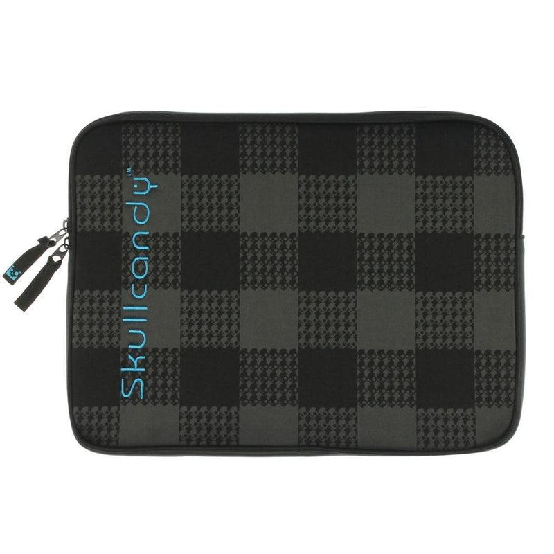 Skullcandy Black & Grey Neoprene Shattered Sleeve Soft Case For Laptop 13.3""