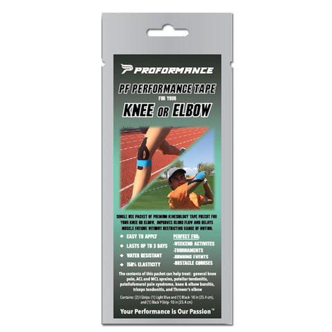 Precut PF Performance Tape - Knee/Elbow - The Proformance Group, Inc.