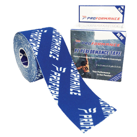 PF Performance Tape - Blue w/ Logo - The Proformance Group, Inc.