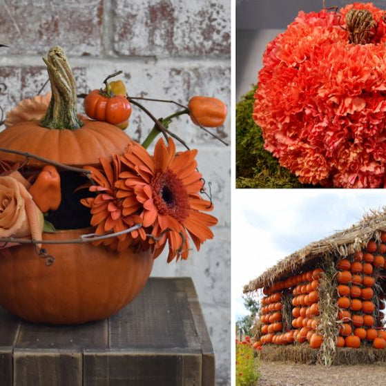 6 Awesome Ways to Decorate with Fall Pumpkins