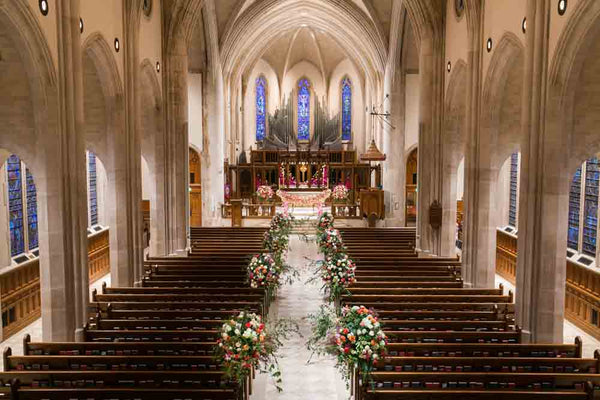 Amazing Floral Wedding Aisle Designs